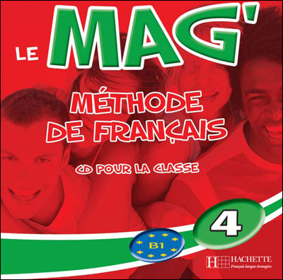 Le Mag' 4 - CD audio classe (Лицензия)