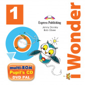 iWonder 1 multi-ROM (Pupil's Audio CD / DVD Video PAL)