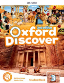 Oxford Discover Second edition 3: Student's Book with App