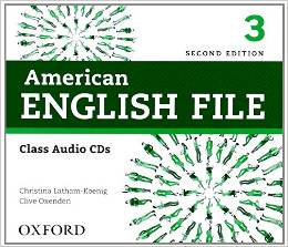 American English File Second edition Level 3 Class Audio CD (4)