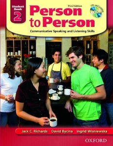 Person to Person Third Edition 2 Student Book (with Student Audio CD)