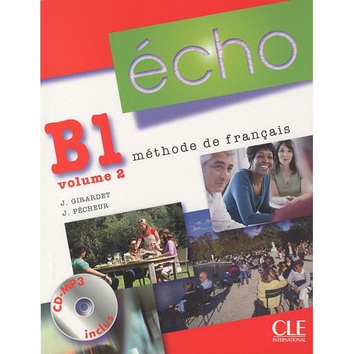 Echo B1 - Volume 2 - Livre de l'eleve + Portfolio + CD-mp3