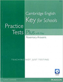Practice Tests Plus KET for Schools with Key + Multi-ROM