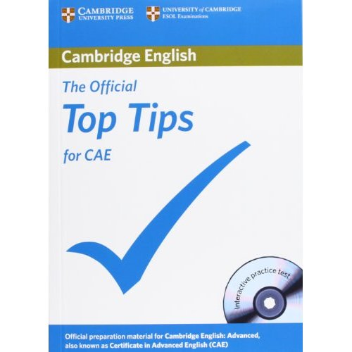 The Official Top Tips for CAE (Second Edition) Paperback with CD-ROM