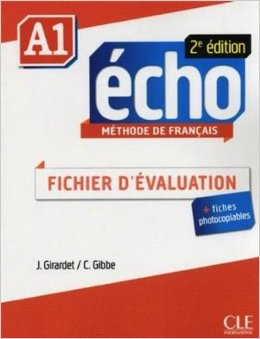 Echo A1 - 2e edition -  Fichier D'evaluation