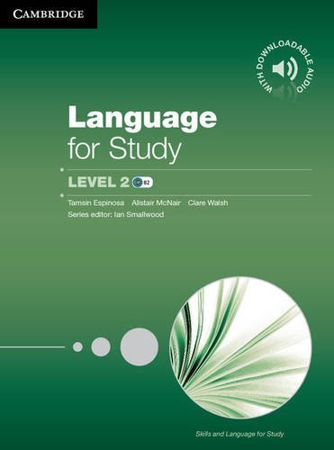 Language for Study 2 Student's Book with Downloadable Audio