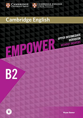 Cambridge English Empower Upper-Intermediate Workbook without Answers with Downloadable Audio