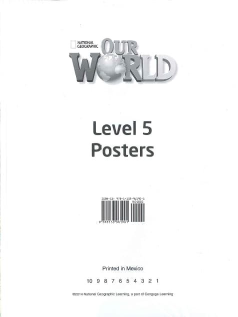 Our World 5 Poster Set