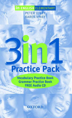 In English Elementary 3-in-1 Practice Pack
