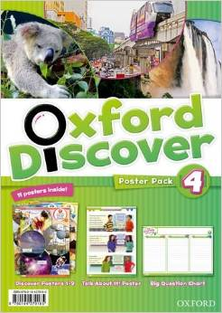 Oxford Discover 4  Poster Pack