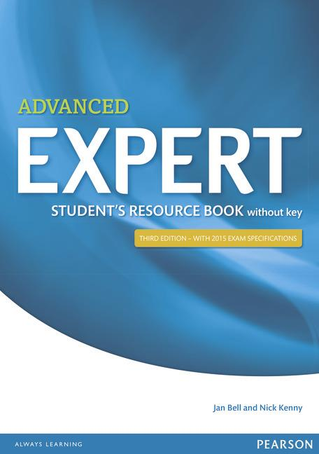 Expert Advanced Third Edition Student's Resource Book without Key