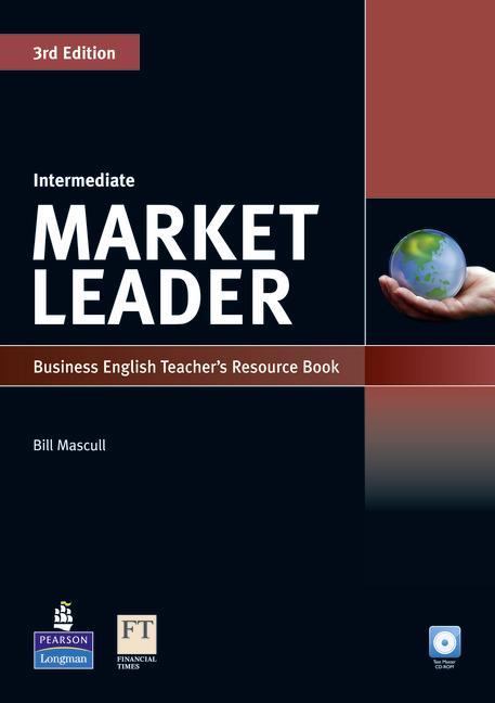Market Leader 3rd Edition Intermediate Teacher's Book with Test Master CD-ROM