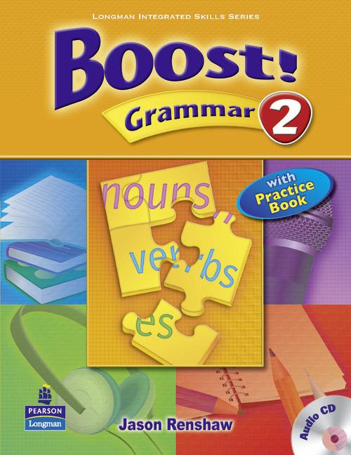 Boost Grammar 2 Student's Book with Audio CD