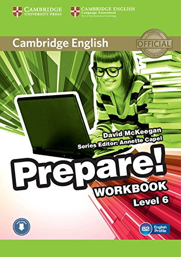 Cambridge English Prepare! Level 6 Workbook with Audio-online