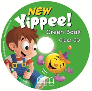 New Yippee! Green Class Audio CD