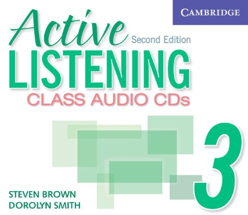 Active Listening 2nd Edition Level 3 Class Audio CD (3)