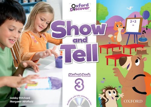 Show and Tell Level 3 Student Book and Multi-ROM Pack