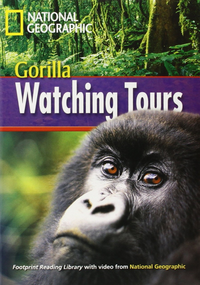 Fotoprint Reading Library A2 Gorilla Watching Tours with CD-ROM