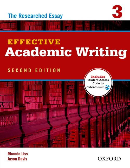 Effective Academic Writing Second Edition 3 Student Book with Student Online Access Code