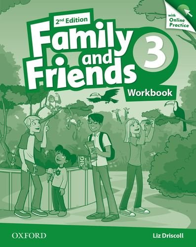 Family and Friends Second Edition 3 Workbook & Online Skills Practice Pack
