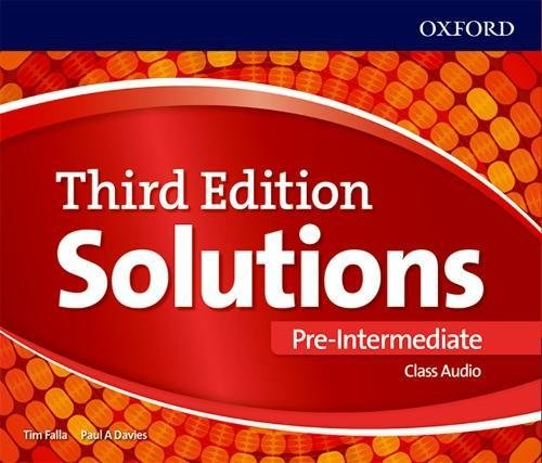 Solutions Third Edition Pre-Intermediate Class Audio CDs