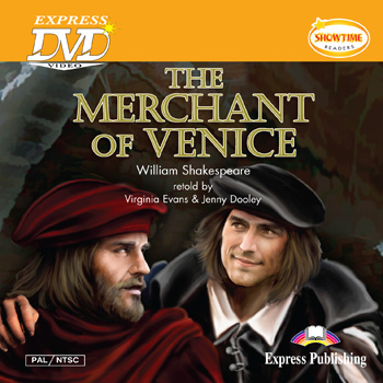 Showtime Readers Level 5 The Merchant of Venice DVD Video PAL/NTSC