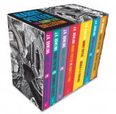 Harry Potter Box Set: The Complete Collection (Adult Paperback)