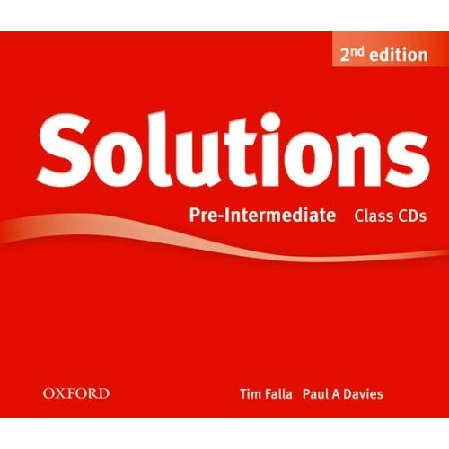 Solutions Second Edition Pre-Intermediate Class Audio CDs (3)