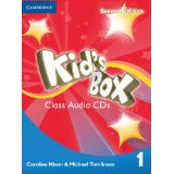 Kid's Box Second Edition 1 Class Audio CDs (4) (Лицензия)