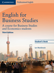 English for Business Studies (Third Edition) Student's Book