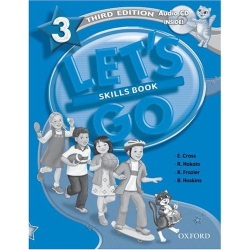 Let's Go Third Edition 3 Skills Book with Audio CD Pack