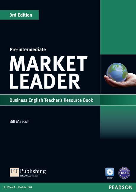 Market Leader 3rd Edition Pre-Intermediate Teacher's Book with Test Master CD-ROM