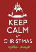 Keep Calm at Christmas (Keep Calm and Carry on)  HB