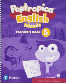 Poptropica English Islands 5 Teacher's Book and Online Game Access Card pack