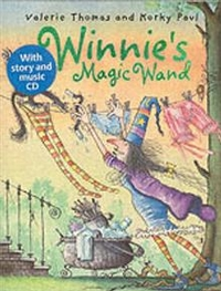 Winnie's Magic Wand (Paperback + CD)