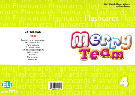 Merry Team 4 Flashcards