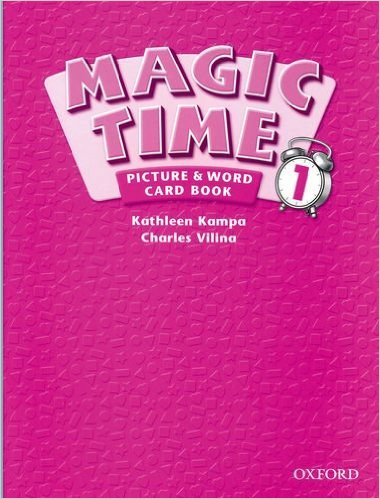 Magic Time 1 Picture & Word Card Book