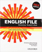 English File Third Edition Elementary Student's Book with Student's Site and Online Skills Pack