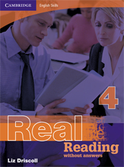 Cambridge English Skills: Real Reading Level 4 Book without answers