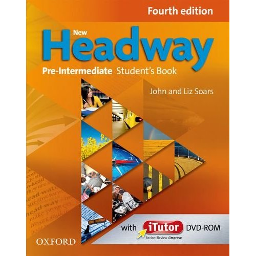 New Headway Pre-Intermediate Fourth Edition Student's Book + iTutor DVD-Rom