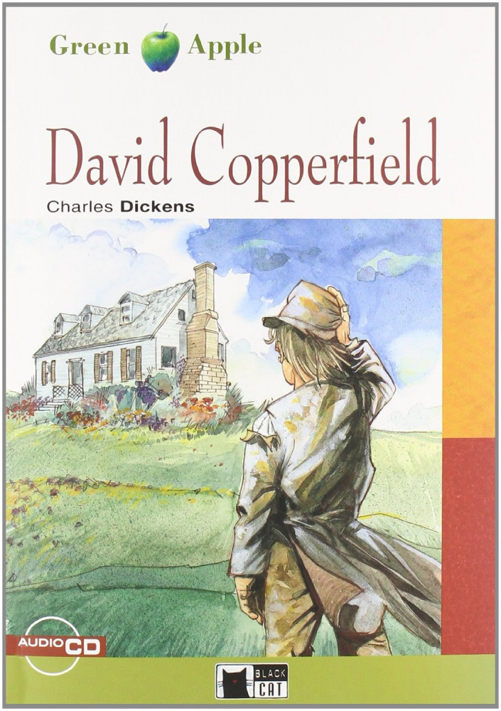 Green Apple Step2:  David Copperfield with Audio CD