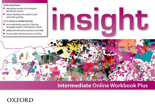 Insight Intermediate Online Workbook Plus Card with Access Code