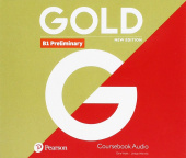 Gold New Edition B1 Preliminary Class Audio CDs