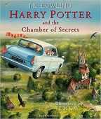 Harry Potter and the Chamber of Secrets (illustrated ed) - Paperback