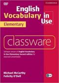 English Vocabulary in Use Elementary Classware DVD-ROM