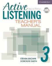 Active Listening 2nd Edition Level 3 Teacher's Manual with Audio CD