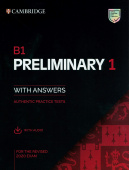 B1 Preliminary 1 for the Revised 2020 Exam Student's Book with Answers with Audio