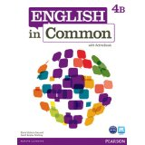 English in Common 4B Student Book and Workbook with ActiveBook and MyEnglishLab