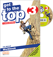 Get to the Top 3 Workbook + Grammar Practice with Student's audio CD/CD-Rom