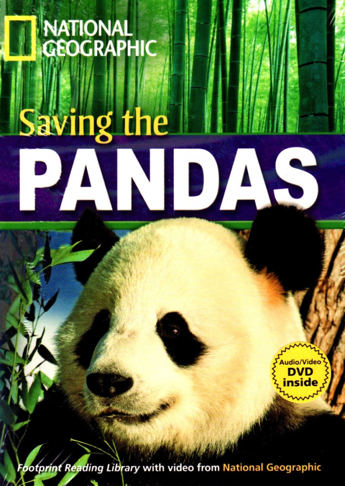 Fotoprint Reading Library B1 Saving the Pandas! with CD-ROM